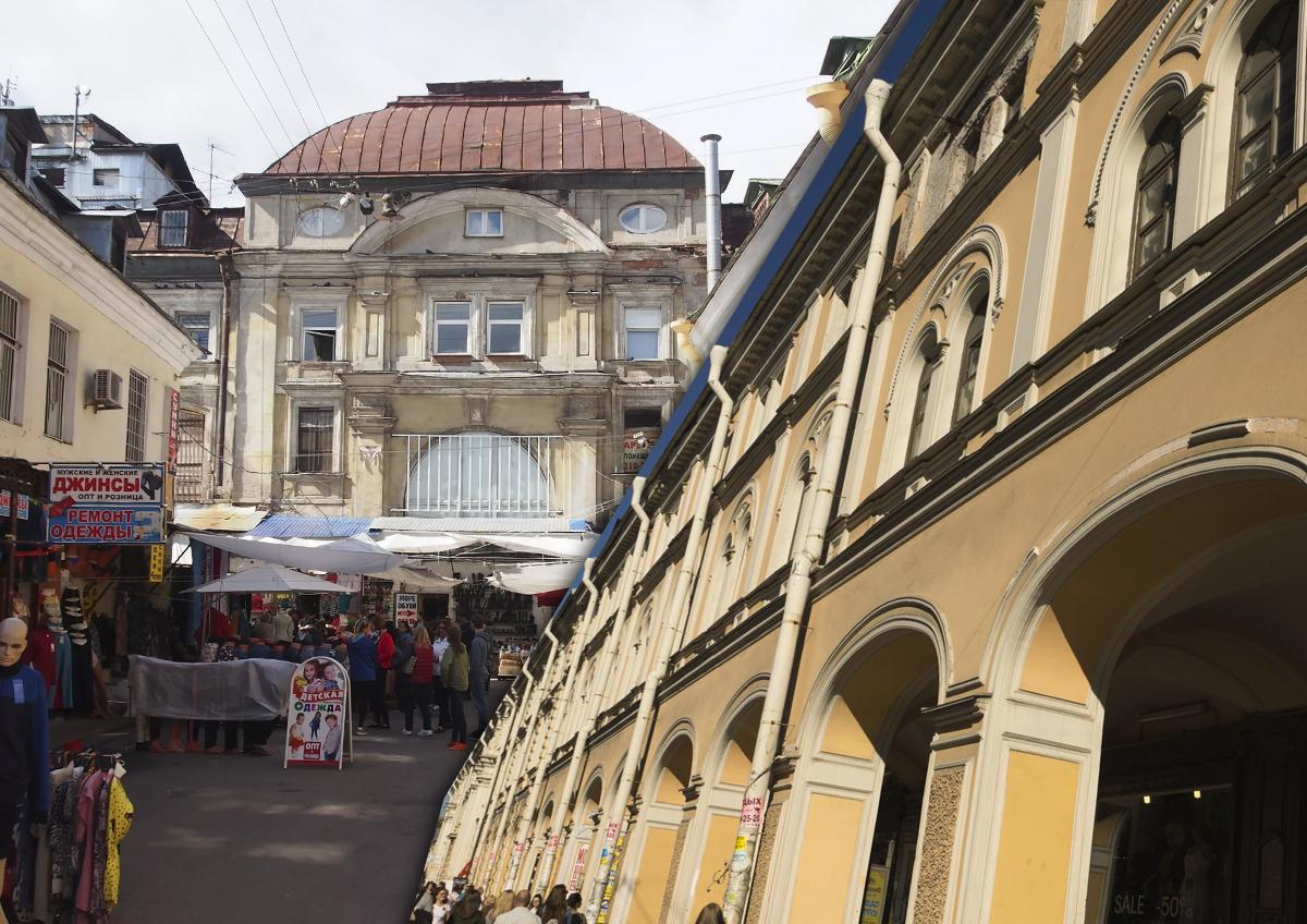 «Портал в криминальные 90-е»: власти Петербурга избегают встреч в Апраксином дворе
